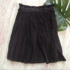 3d59f04320 Dimri Black Pleated Skirt Size M
